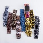 Wholesale interchangeable snakeskin scrunchie smart watch band smart watches Fit