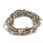 Wholesale pC Beaded Stackable Star Stretch Bracelet Set PC Per Set Diameter