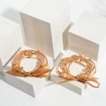 Wholesale set Six Wire Bracelets Star Accents Diameter