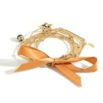 Wholesale station Bead Cord Bracelet Star Charm Diameter