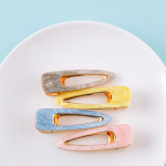 Wholesale large hair clip resin inspired details