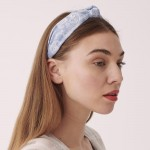 Wholesale do everything Love brand knotted paisley headband One Polyester