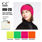 Wholesale c C HW Solid Cable Knit Headwrap Acrylic One fits most