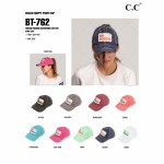 Wholesale ponytail baseball cap reads Beach Happy Vintage washed Distressed fabr