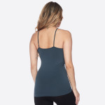 Wholesale women s Solid Color Seamless Triple Criss Cross Camisole o Scoop neck