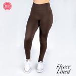 Wholesale women s Mix Brand Solid Color Seamless Fleece Lined Leggings Fleece Li