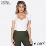 Wholesale change up bodysuit Use it base all day night outfits Short sleeves sco