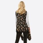 Wholesale leopard Print Vest One fits most L Acrylic