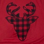 Wholesale bella Canvas short sleeve buffalo check deer boutique graphic tee Pack