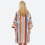 Wholesale women s lightweight designer inspired kimono front waist tie closure F