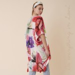 Wholesale do everything Love brand women s lightweight watercolor floral kimono
