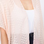 Wholesale women s Lightweight Sheer Ombre Kimono One fits most L Polyester