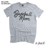 Wholesale heather Grey Gildan Softstyle brand short sleeve distressed Baseball M