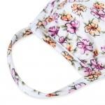 Wholesale adults Reusable Floral Blossom Print T Shirt Cloth Mask Machine Wash C