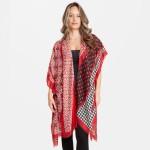 Wholesale women s Geometric Stipe Polka Dot Kimono One fits most L Viscose