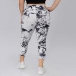 Wholesale women s Active Tie Dye Workout Leggings PACK XL ONLY o Elasticized poc