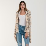 Wholesale do everything Love Brand Multicolor Yarn Knit Cardigan Tassel Trim Cuf