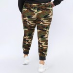 Wholesale women s XL Rise Camouflage Joggers Pack XL ONLY o rise drawstring wais