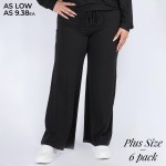 Wholesale women s Plus Leg Drawstring Lounge Pants Pack Pants ONLY o Drawstring