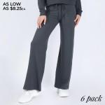 Wholesale women s Leg Drawstring Lounge Pants Pack Pants ONLY o Drawstring rise