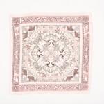 Wholesale ladies Vintage Print Neckerchief Polyester