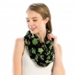 Wholesale women s Lightweight St Patricks Day Print Infinity Scarf W L Polyester