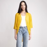 Wholesale women s Lightweight Knit Kimono Cardigan One fits most L Polyester