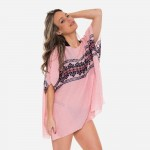 Wholesale women s Lightweight Embroidered Cover Up Top One fits most L Viscose