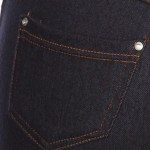 Wholesale women s Capri Jeggings Faux Fly Contrast Stitching pack o Jean like Je