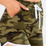 Wholesale women s Mix Brand Active Athletic Drawstring Dolphin Shorts pack Draws