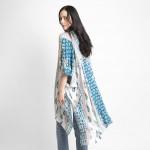 Wholesale floral Print Kimono Viscose One Fits Most
