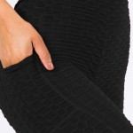 Wholesale women s Brazilian Body Sculpting Full Leggings Side Pockets pack Seen