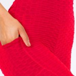 Wholesale women s Brazilian Body Sculpting Full Leggings Side Pockets pack Seen