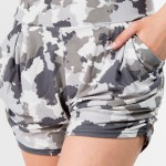 Wholesale women s Mix Brand Harem Shorts pack Waistband Two Pockets Soft Smooth