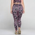 Wholesale plus Cheetah Zebra Leopard Print Leggings Pack o Moisture wick fabric