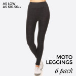 Wholesale women s Stone Wash Seamless Moto Leggings Pack o Stone Wash Super Stre