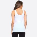 Wholesale women s Solid Color Seamless Tank Top o Round Neckline o Body con o Sl