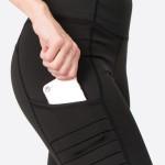 Wholesale women s Active Solid Workout Leggings Tech Pocket Mesh Details o Speci