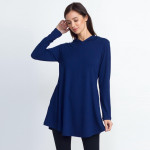 Wholesale women s Hooded Long Sleeve Tunic Top Pockets PACK o Long sleeves crew