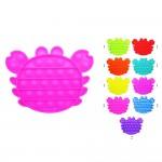 Wholesale crab Push Pop Fidget Toy Pack Ages Seen TikTok It s Like Bubble Wrap N