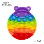 Wholesale rainbow Lady Bug Push Pop Fidget Toy Pack Ages Seen TikTok It s Like B