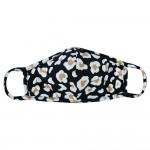 Wholesale reusable Leopard Print T Shirt Cloth Mask Seam Machine Wash Cold Mild