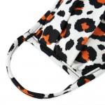 Wholesale kIDS Reusable Leopard Print Pleated T Shirt Cloth Mask Machine Wash Co