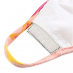 Wholesale kIDS Reusable Multicolor Star Print T Shirt Cloth Mask Filter Insert M