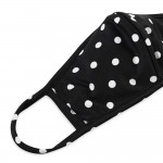 Wholesale aDULTS Reusable Polka Dot T Shirt Cloth Mask Seam Filter Insert Machin