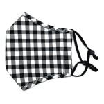 Wholesale do everything Love Brand Adjustable Buffalo Check Fashion Mask Filter
