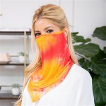 Wholesale tie Dye Shield Mask Ear Loops Non Medical No Filter Quick Dry Breathab