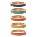 Wholesale multicolor enamel ring set pcs set diameter Fits up ring