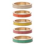 Wholesale multicolor enamel ring set pcs set diameter Fits up ring